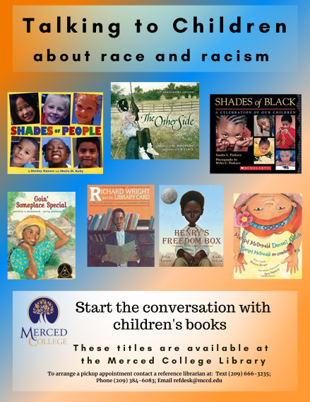 Talking to Children about Race flyer